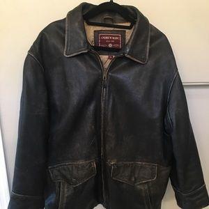 Andrew Marc Men's Leather Jacket